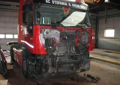 Garage vrachtwagen West-Vlaanderen