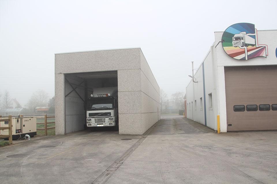 Remstation vrachtwagens West-Vlaanderen