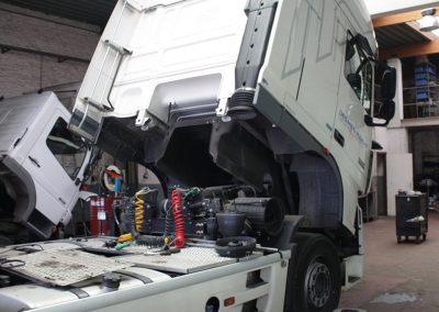 Herstellingen vrachtwagens - trekker