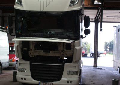 Vrachtwagen onderhoud